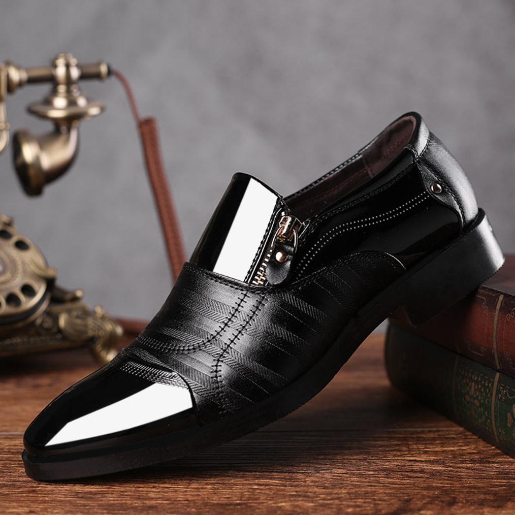 Details about  /REETENE Fashion Slip On Men Dress Shoes Men Oxfords Fashion Business Dress Men